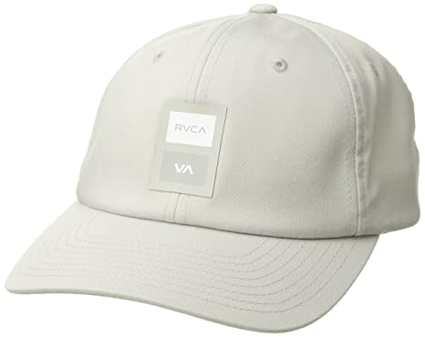 f8c5d9ee Amazon.com: RVCA Men's VA Sport Trainer HAT, Silver Bleach, EA: Clothing