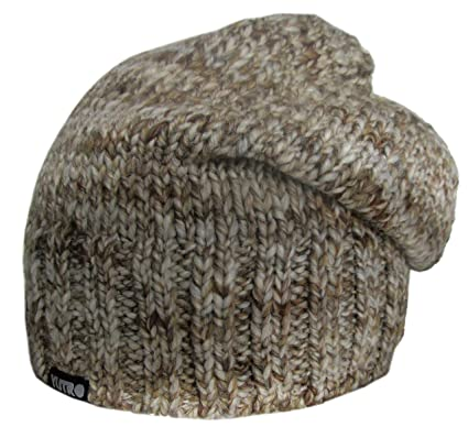 fcae1ab0755 Amazon.com  YUTRO Fashion Women s Slouchy Fleece Lined Wool Knitted Beanie  Hat One Size Brown  Clothing