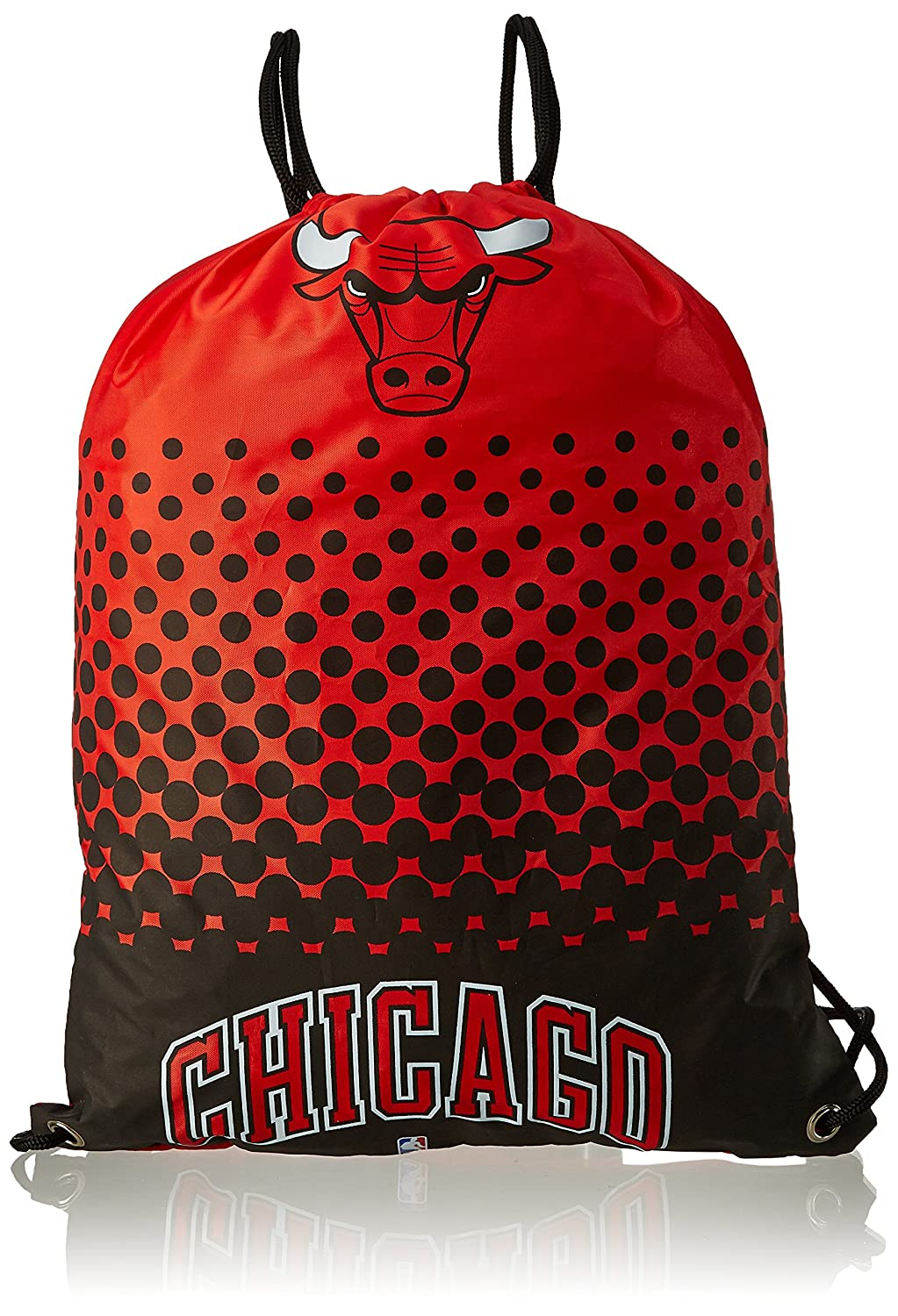 Forever Collectibles NBA Chicago Bulls Fade Drawstring Backpack 7539