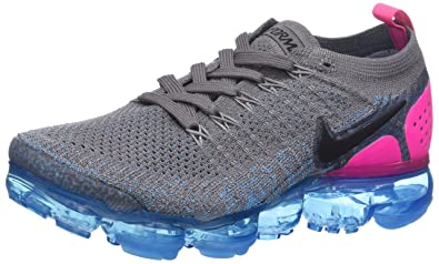 size 40 9ac65 1858e Nike Women's Air Vapormax Flyknit 2 Gunsmoke/Black-Blue Orbit-Pink Blast  942843-004 (Size: 9)
