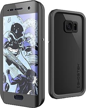 Ghostek Atomic 2.0 Samsung S7 Funda Resistente Al Agua (Viene con Resistente a los arañazos Protector de Pantalla), Caucho, Negro, S7 Edge: Amazon.es: Electrónica