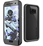 Galaxy S7 Edge Waterproof Case, Ghostek Atomic 2.0 Series for Samsung Galaxy S7 Edge (Black)