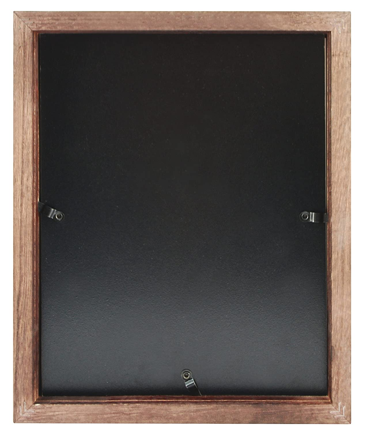 Walnut MCS Art 9 by 12-Inch Shadow Box Frame with 6 by 8-Inch Mat Opening