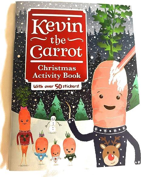 Aldi Kevin The Carrot Libro De Actividades De Navidad Diseno De Zanahoria Amazon Es Hogar Ensalada navideña fácil de zanahoria con frutos secos. aldi kevin the carrot libro de actividades de navidad diseno de zanahoria
