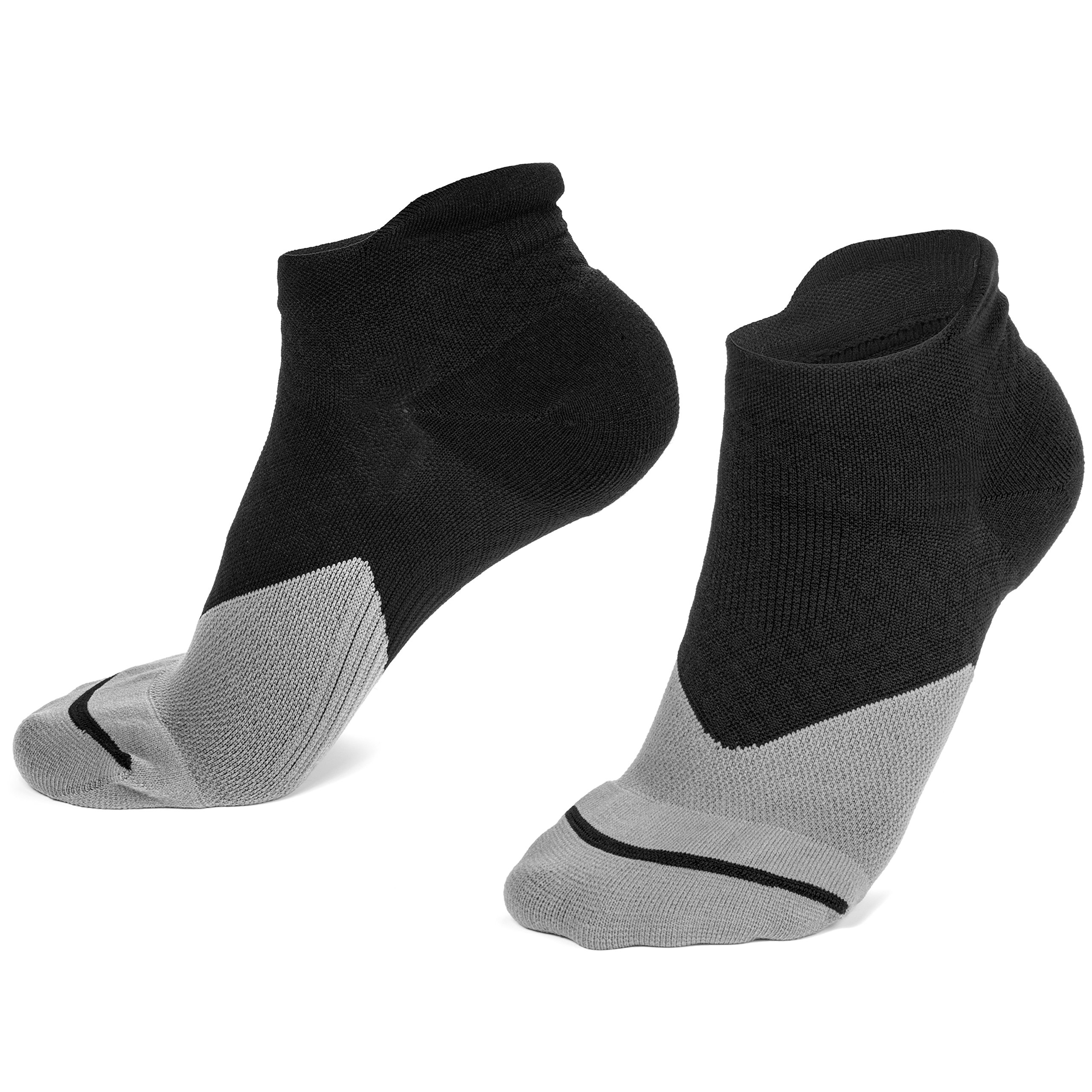 Plantar Fasciitis Compression Socks for Men & Women - Best Heel and Arch Support Brace for Everyday Foot Pain Relief - Better Treatment Than Shoes, Sleeves, Splints, Inserts, Insoles, Orthotics!