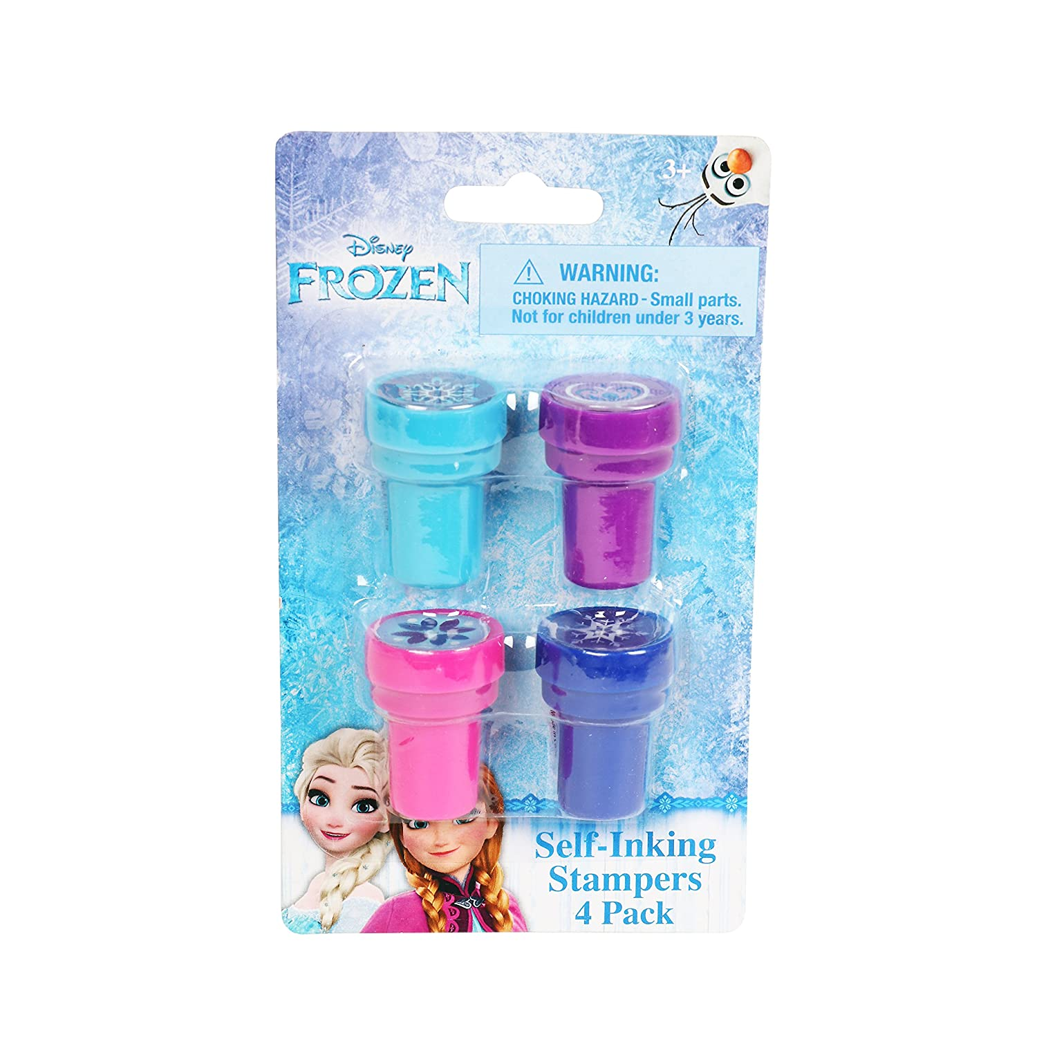 Frozen 4 Sisters Disney Character Authentic Licensed Self Inking Stampers Innovative Designs