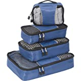 eBags Classic Packing Cubes - 4pc Small/Med Set (Denim)