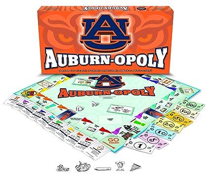 Amazon com: Late for the Sky Auburn University - Auburnopoly