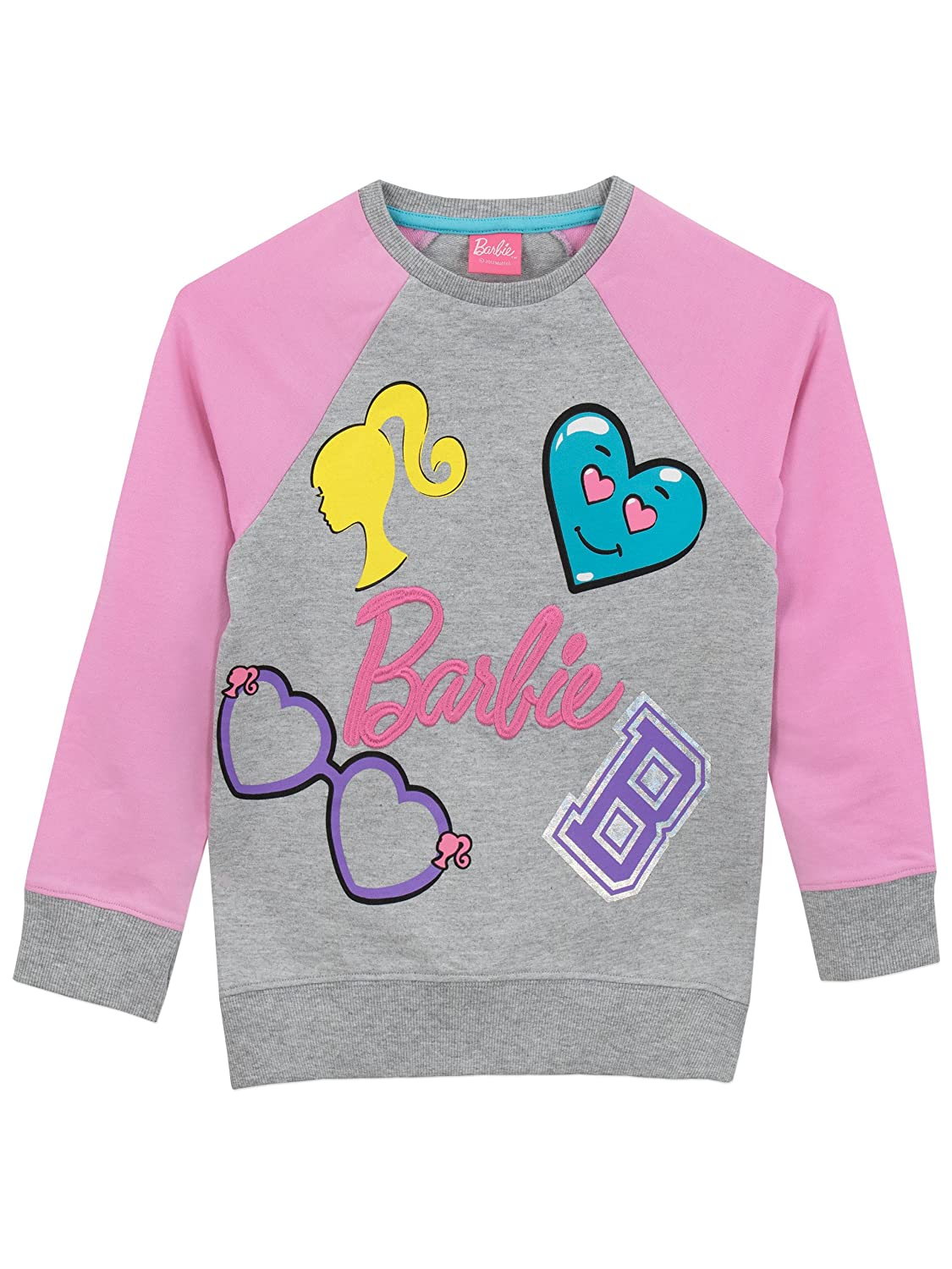 Barbie Girls' Logo Sweatshirt