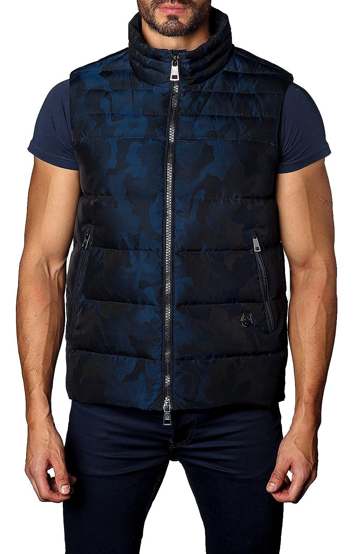 [ヤレドラング] メンズ ジャケットブルゾン Jared Lang Camo Down Puffer Vest [並行輸入品] B07C3FR8KF Large