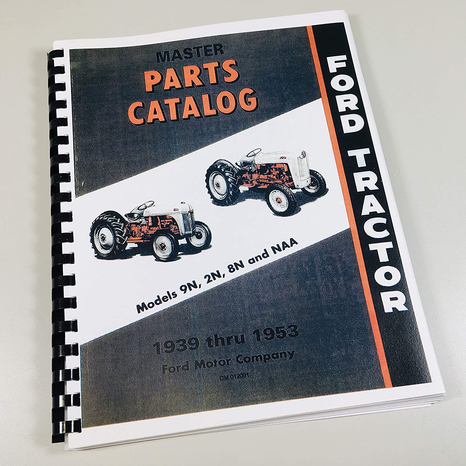 Amazon.com: FORD TRACTOR MASTER PARTS CATALOG, 9N, 2N, 8N, NAA, Jubilee:  Garden & Outdoor | Ford Jubilee Engine Diagram |  | Amazon.com