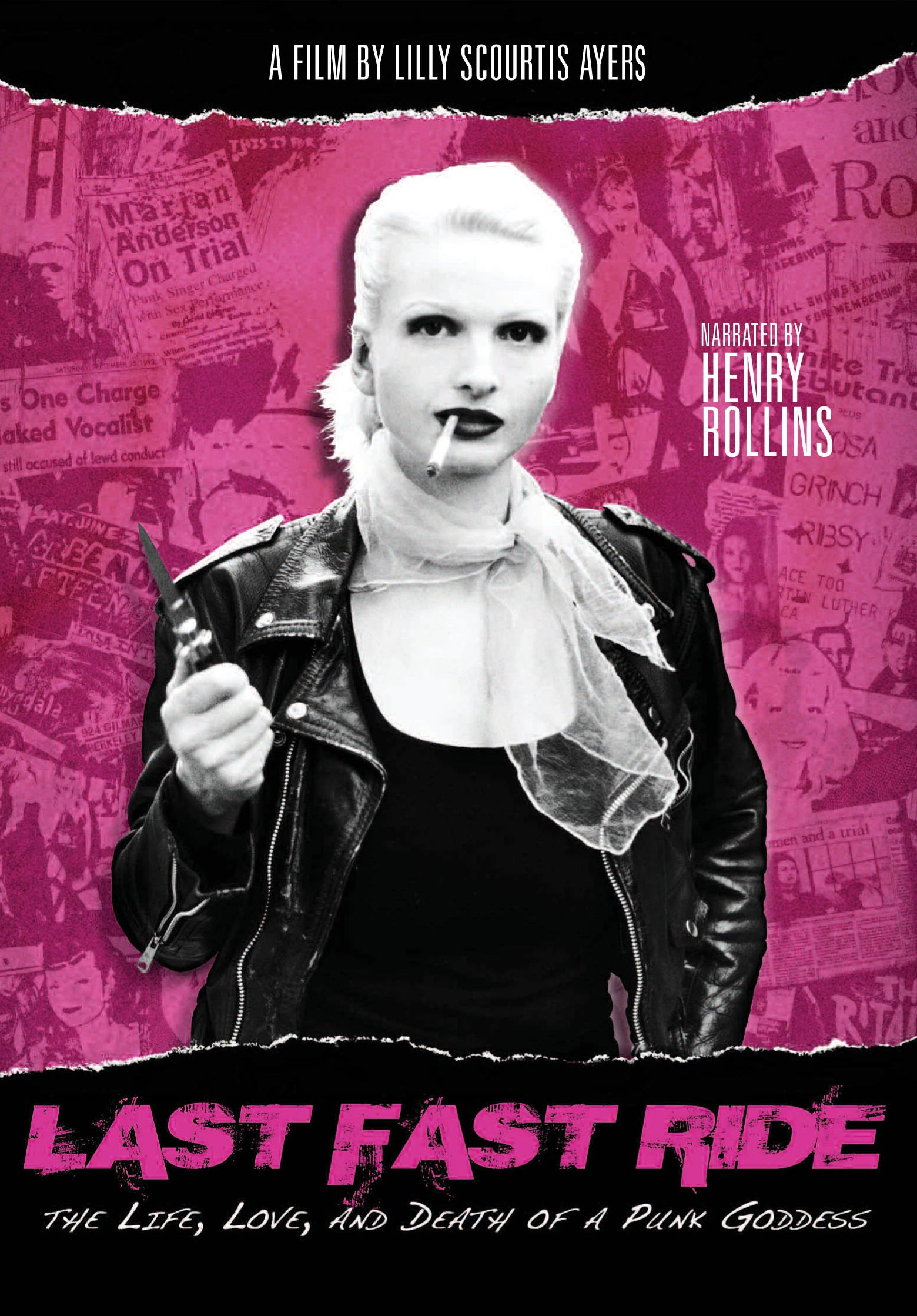 DVD : Last Fast Ride: The Life, Love, And Death Of A Punk Goddess (DVD)