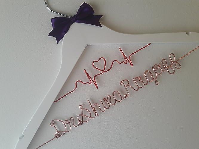 amazon com personalized doctor hanger custom hanger doctor