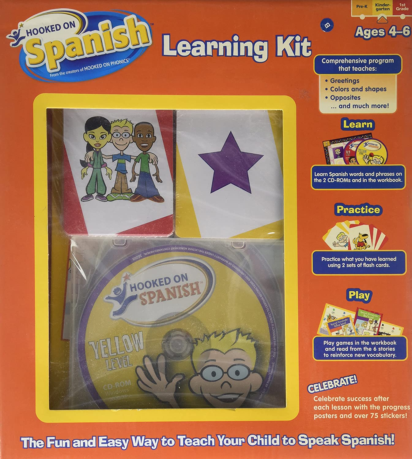Amazon Hooked On Spanish Learning Kit The Fun And Wasy Way To