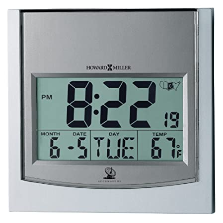 Howard Miller 625-235 Techtime I Wall Clock