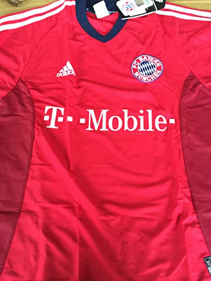 new concept ee670 8a1ac Authentic Adidas 2002-2003 Bayern Munich Germany Soccer Jersey - Champions  League - Made in Portugal