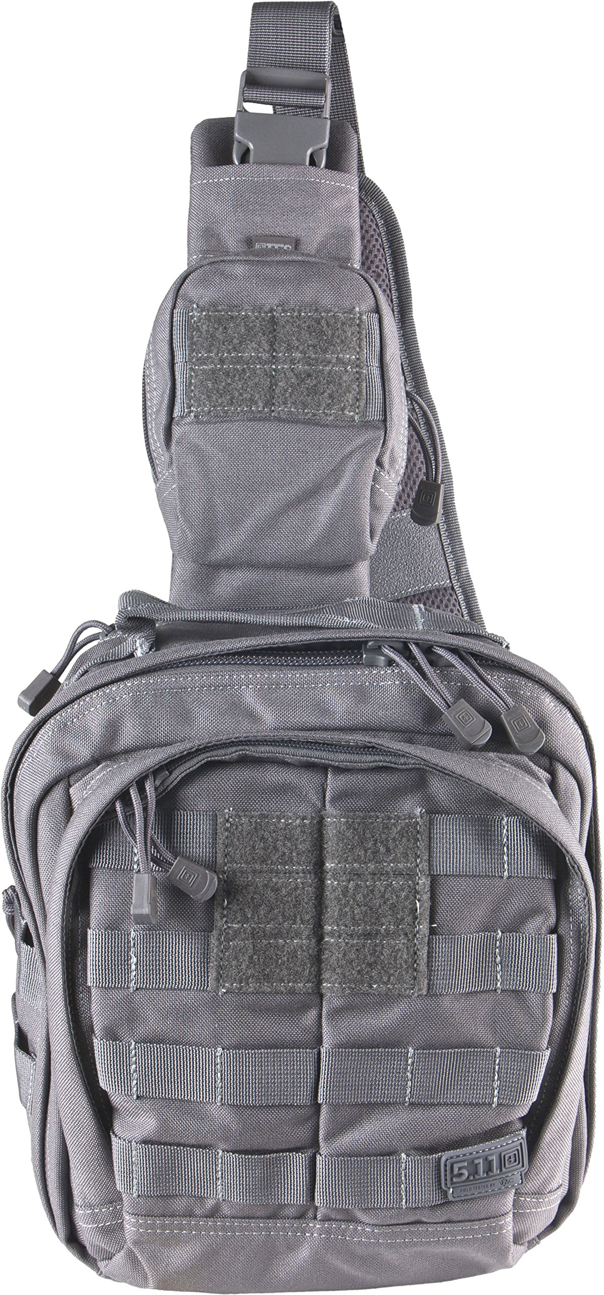 5.11 RUSH MOAB 6 Tactical Sling Pack Military Molle Backpack Bag, Style 56963, Storm
