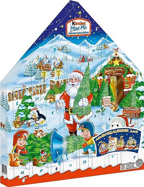 Calendario Avvento Kinder Prezzo.Kinder Maxi Mix Calendario Dell Avvento 351g