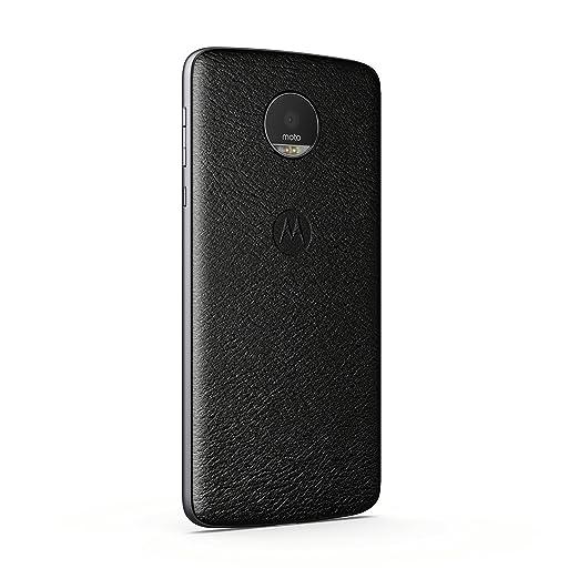 2020 ASMCAPBKLREU Moto Mod- Funda móvil Style Shell, Color Negra ...