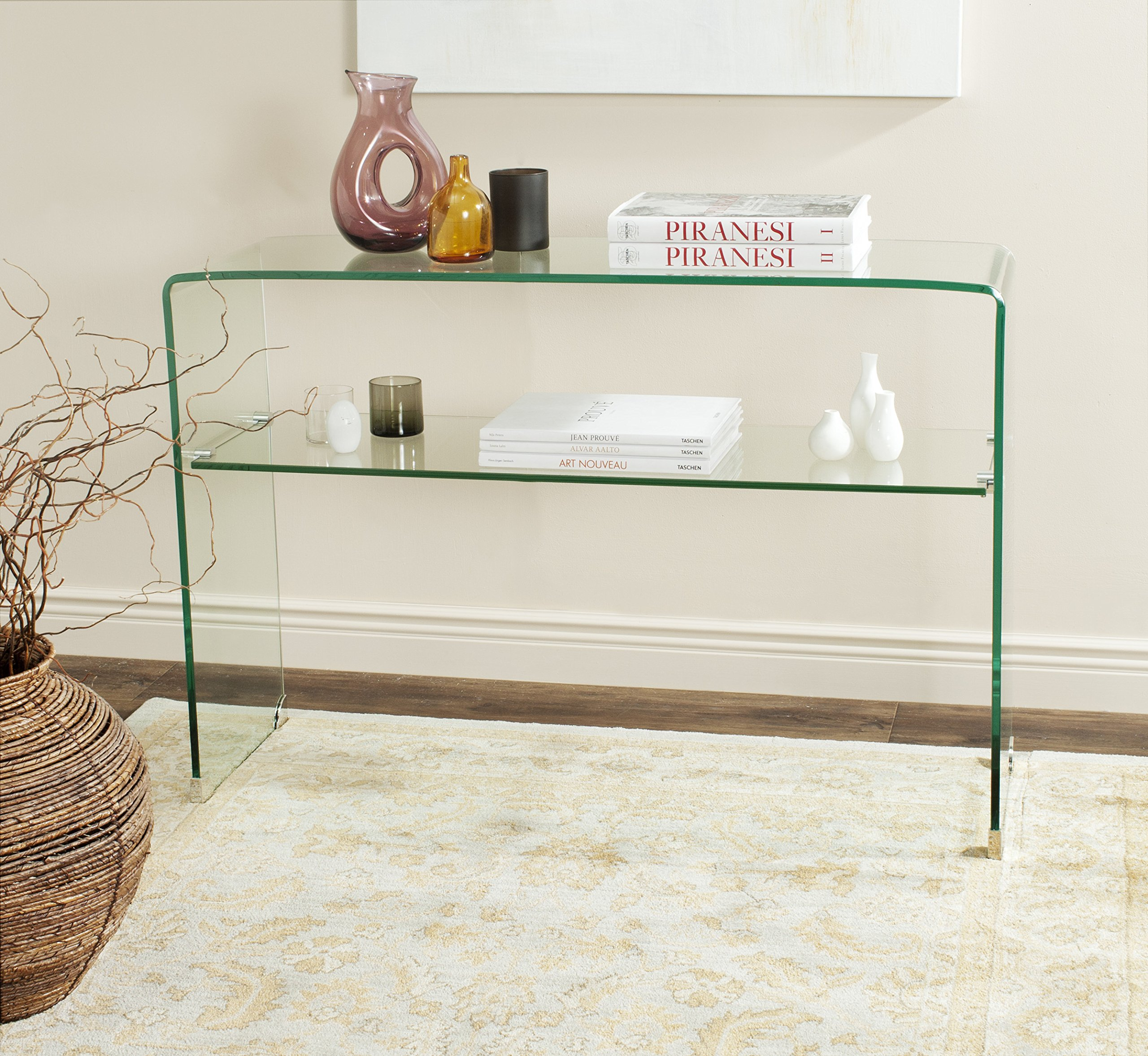 Safavieh Home Collection Hollis Clear Console Table by Safavieh