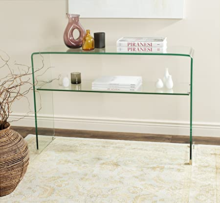 Safavieh Home Collection Hollis Clear Console Table
