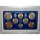 1966 GB Great Britain British Coin Birth Year Vintage Retro Gift Set (52nd Birthday Present or Wedding Anniversary)