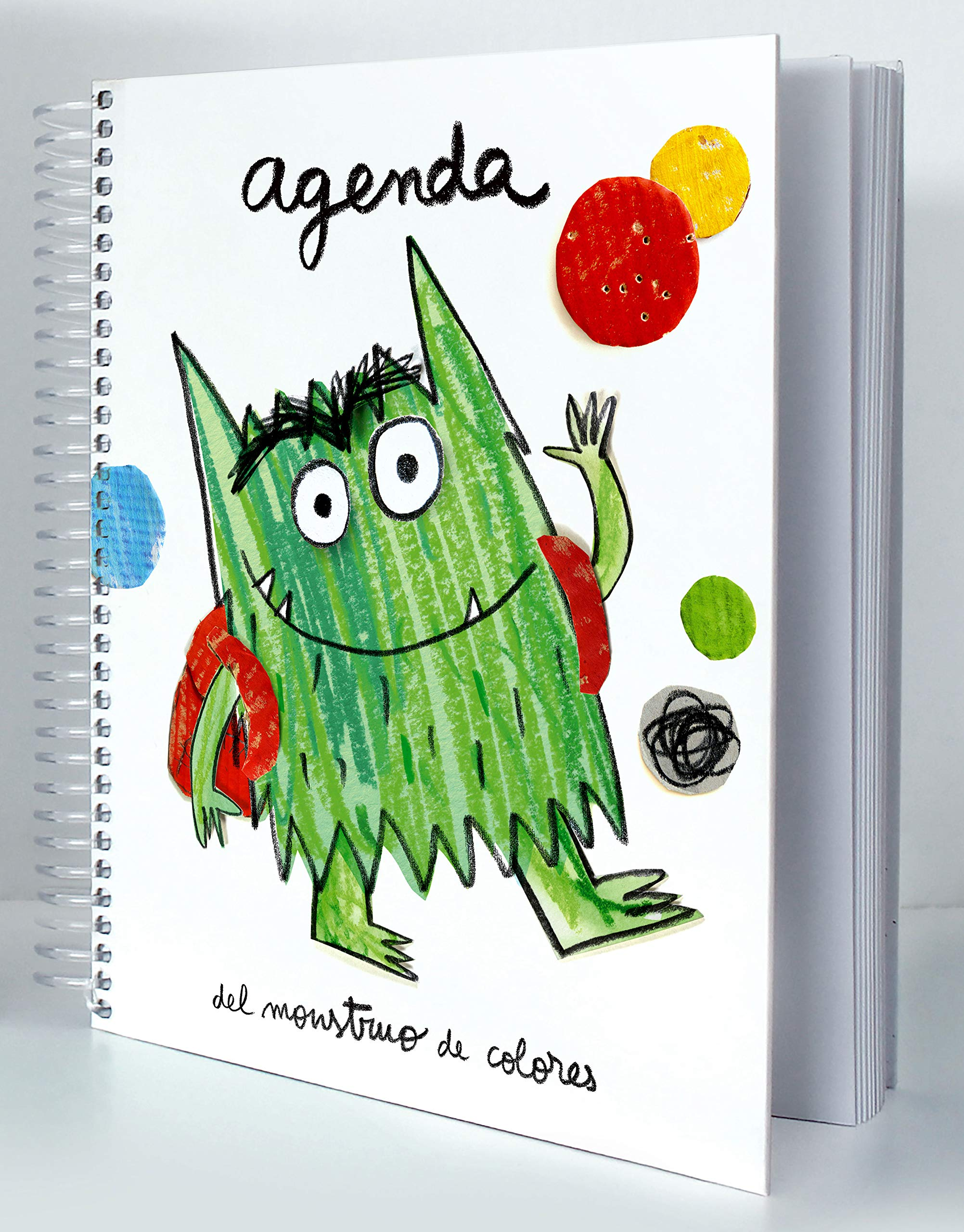 Agenda del Monstruo de Colores: Amazon.es: Anna Llenas i Serra, Editorial  Flamboyant: Libros