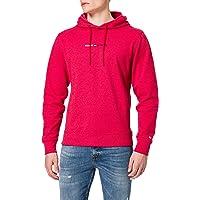 Tommy Jeans TJM Straight Logo Hoodie Sportsweatshirt voor heren