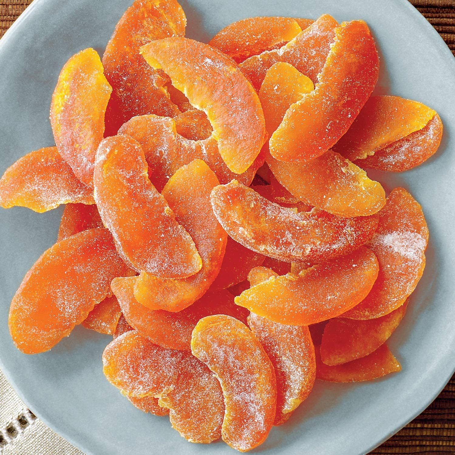 Gourmet Dried Peaches - Harvest Pride Peaches (5 lb Box) by Meduri World Delights