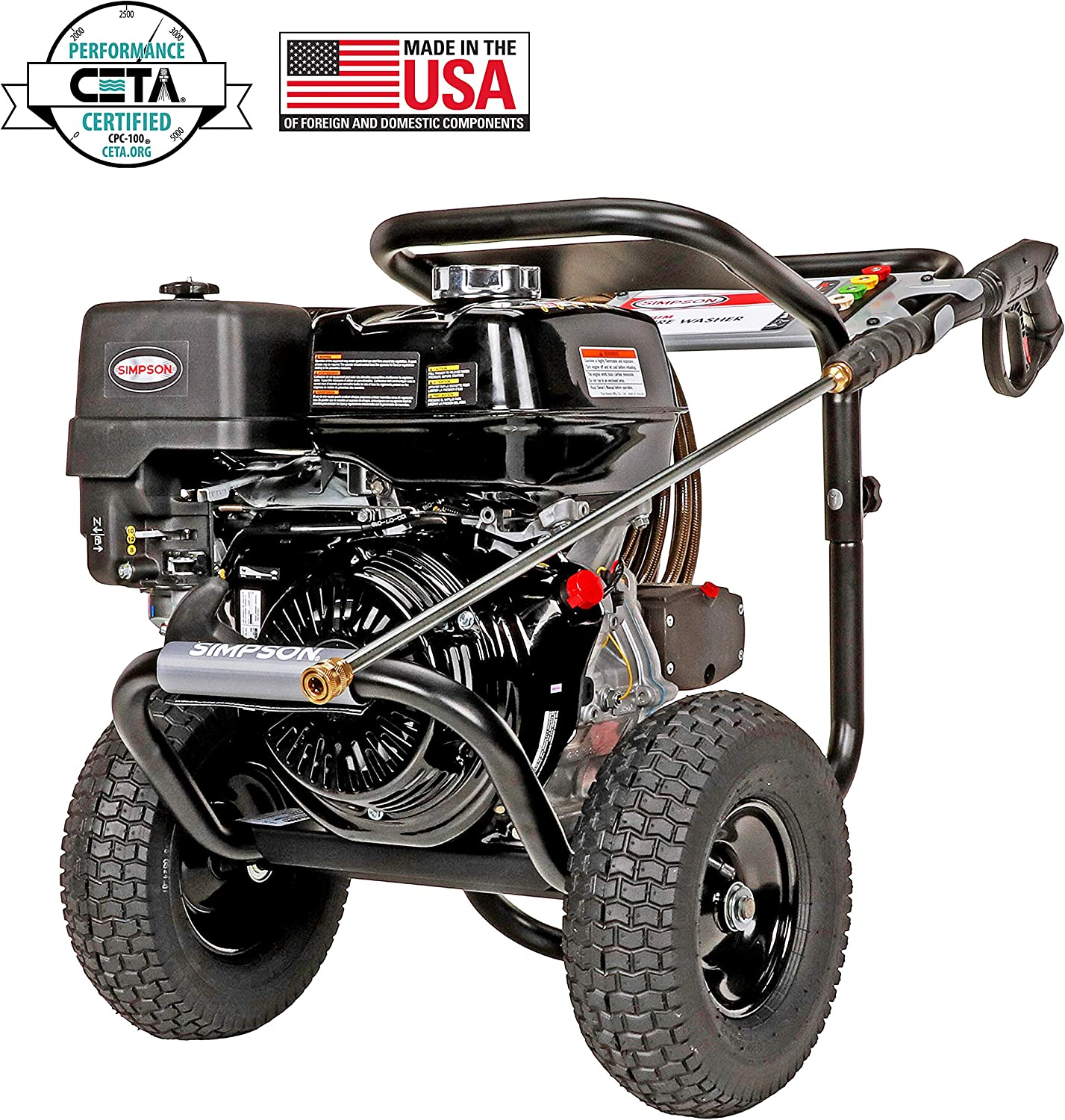simpson electric pressure washer