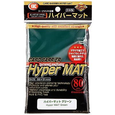 Hyper Matte Sleeves (80-Pack), Green: Toys & Games