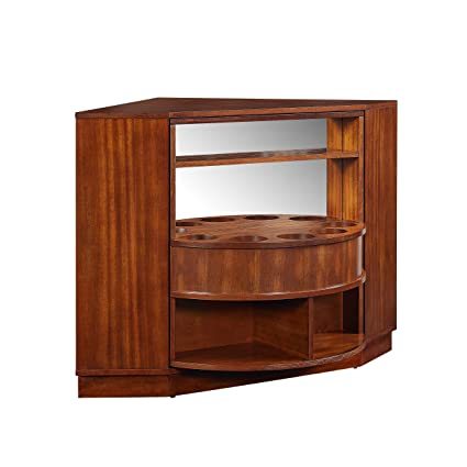 45d7cc9ed73e8 Image Unavailable. Image not available for. Color  Holly   Martin Hentz Midcentury  Modern Rotating Corner Bar Cabinet