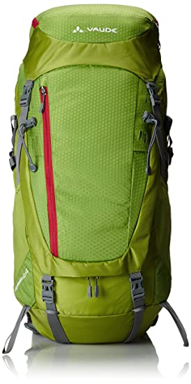VAUDE Rucksack Asymmetric 52+8 - Mochila de senderismo, color verde, talla 76 x 34 x 27 cm: Amazon.es: Deportes y aire libre