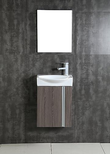 Fine Fixtures Compacto Small Bathroom Vanity Set