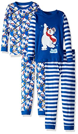 Frosty The Snowman Little Boys  Frosty The Snowman 4-Piece Pajama Set b1ac66718