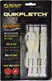 Quikfletch Quikspin Heartland Bowhunters Fletch (6-Pack), 2-Inch
