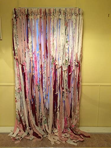 Amazon.com: Pretty in Pink Hippie Curtains (Gypsy, Hippie, Hippy ...