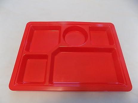 Sectional Tray (red) 4 pcs : sectional tray - Sectionals, Sofas & Couches