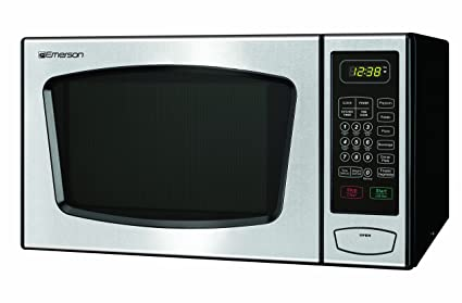 amazon com emerson 0 9 cu ft 900 watt touch control microwave rh amazon com Red Emerson Microwave Model Number Red Emerson Microwave Model Number