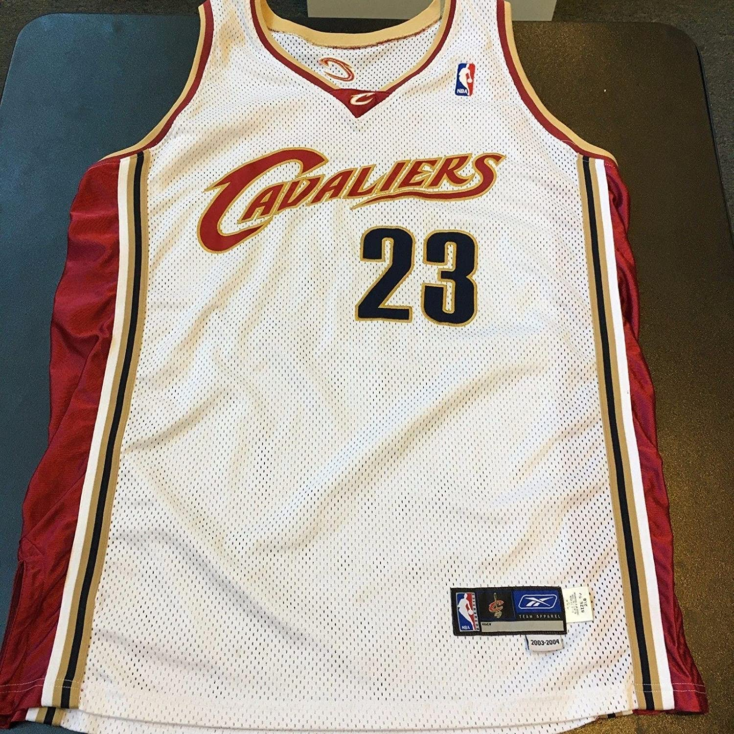 huge discount 7ac3f f4383 LeBron James Jersey - 2003 04 Rookie Game Model ...