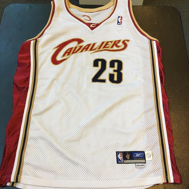 huge discount ba24f d21f4 LeBron James Jersey - 2003 04 Rookie Game Model ...