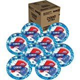 Dixie Ultra Heavy Duty Paper Plates, 10 1/16 Inch Plates, 176 Count (8 Packs of 22 Plates)