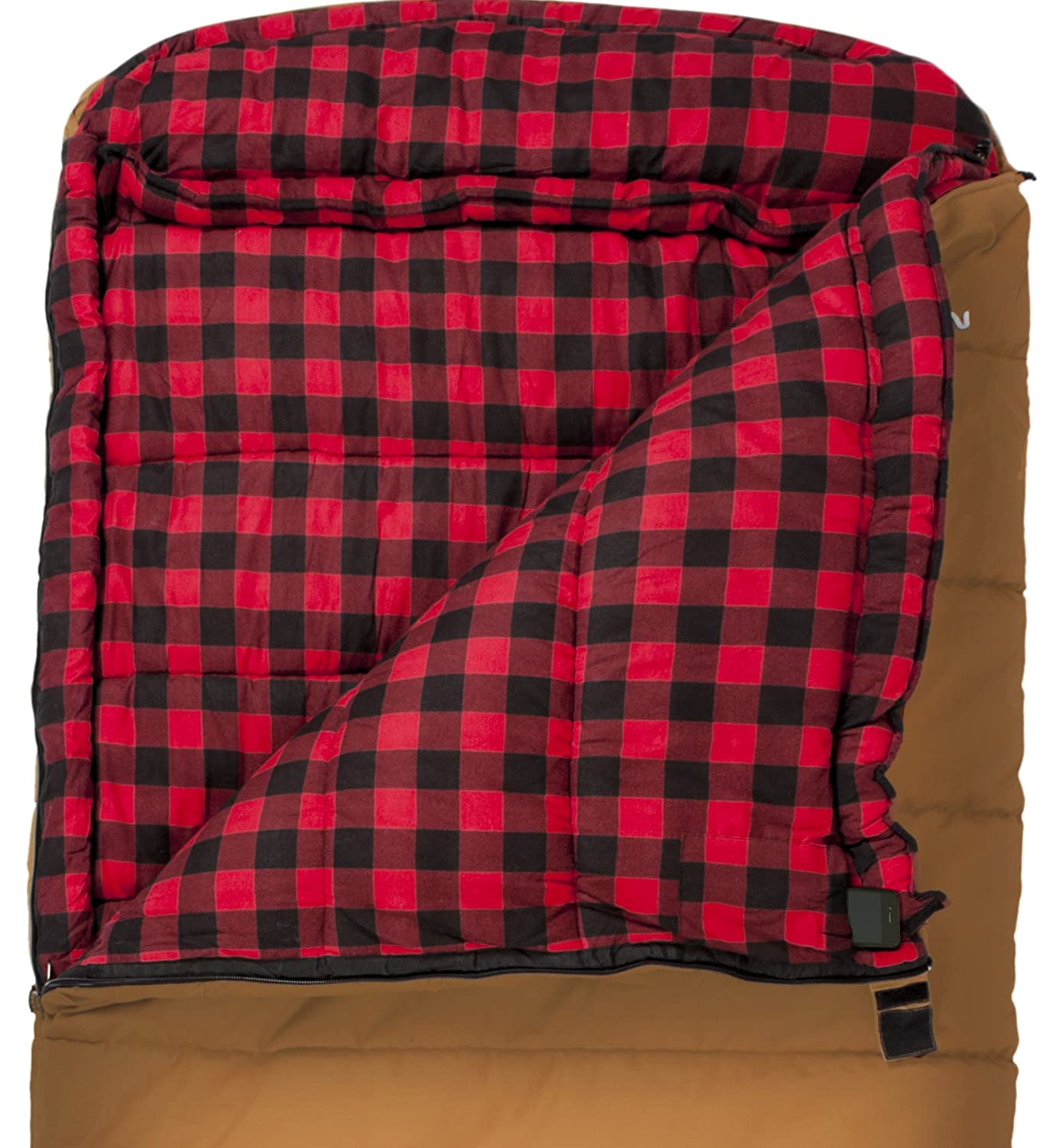 TETON Sports Deer Hunter Sleeping Bag Warm and Comfortable Sleeping Bag Great for Camping Even in Cold Seasons