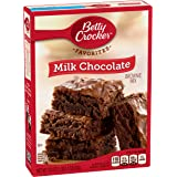 Betty Crocker Brownie Mix Milk Chocolate Family Size 18.4 oz Box