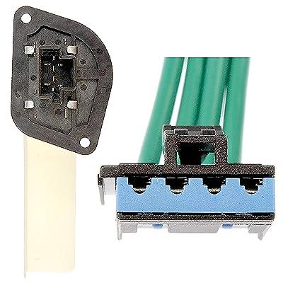 APDTY 084527 Blower Motor Resistor Kit w/Wiring Harness Pigtail Fits 97-98 Dodge Van B1500 B2500 B3500 / 99-03 Dodge Ram Van 1500 2500 3500/97-01 Cherokee / 1997-2006 Wrangler (Replaces 4885456AB): Automotive