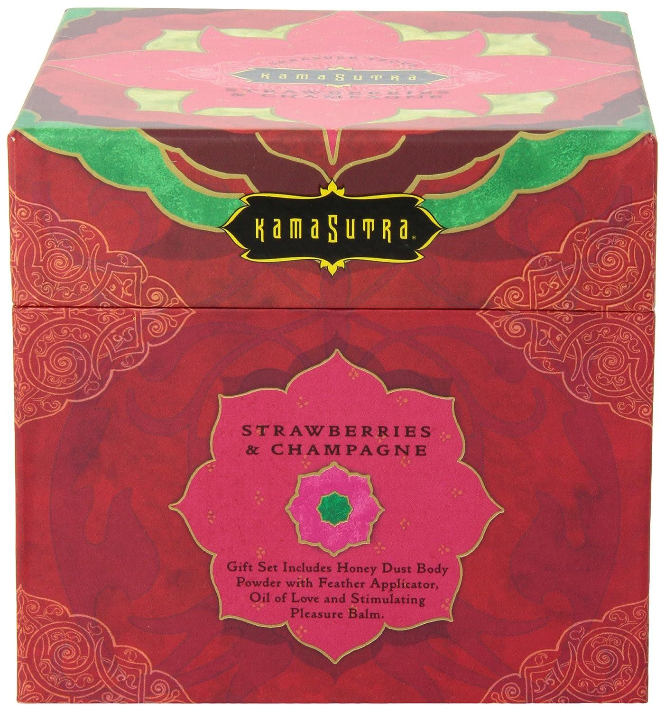 Amazon.com: Kama Sutra Treasure Trove, Raspberry Kiss, 1 Set: Health &  Personal Care