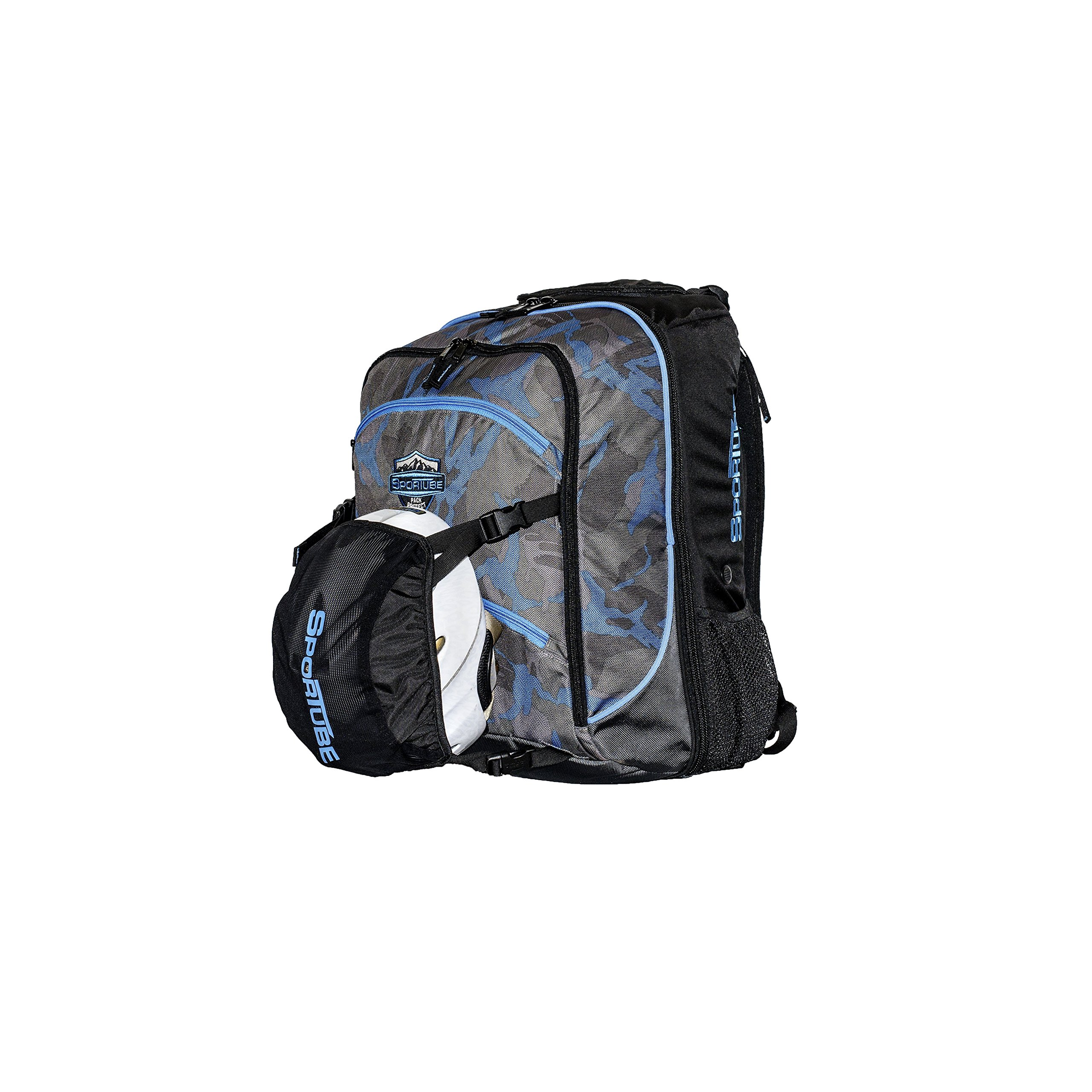 Sportube Overheader Padded Gear and Boot Carry on Backpack Camo by Sportube