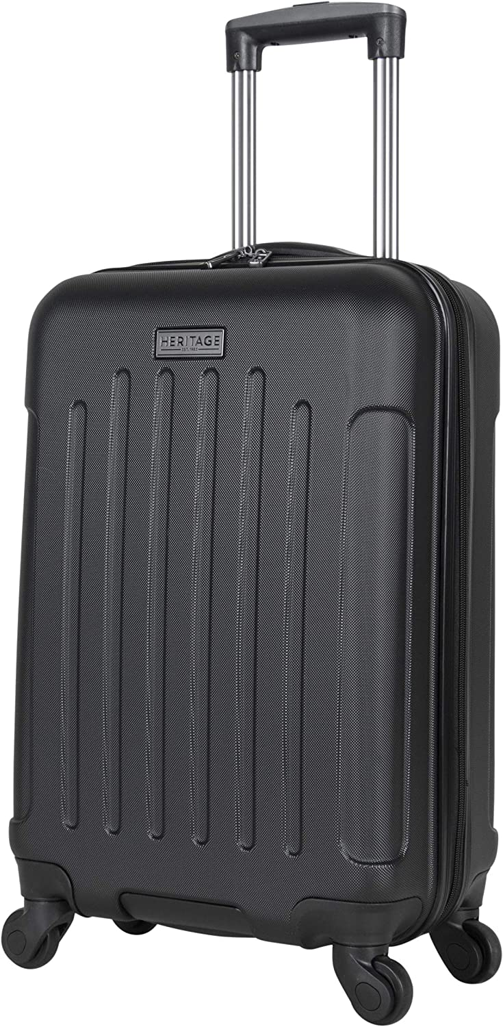 Heritage Travelware Lincoln Park 20 Hardside 4-Wheel Spinner Carry-on Luggage Rose Gold