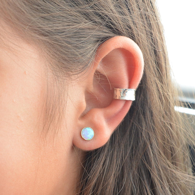 sterling silver ear cuff for non pierced ears