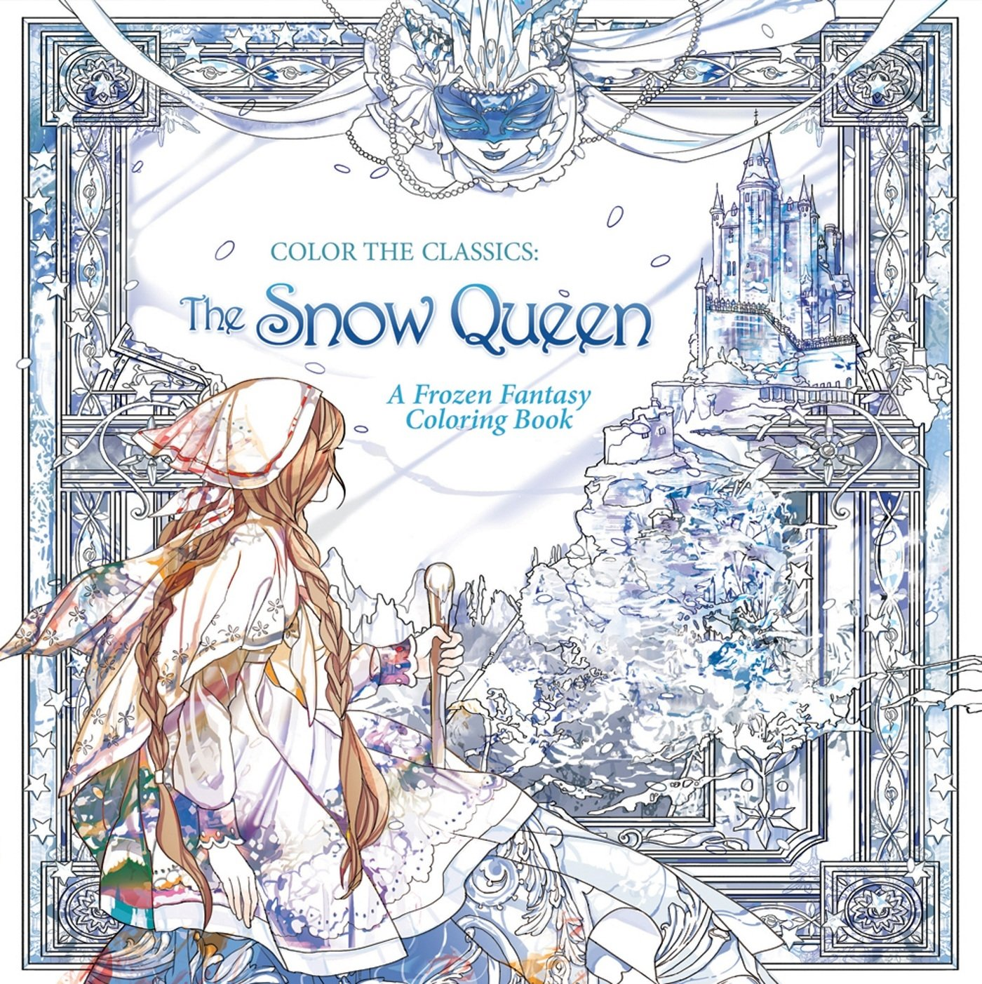 color the classics the snow queen a frozen fantasy coloring book jae eun lee 9781626923997 amazoncom books - Fantasy Coloring Books For Adults